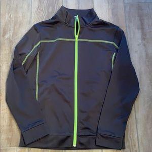 Ex Cond. boys size L 12/14 full zip track jacket